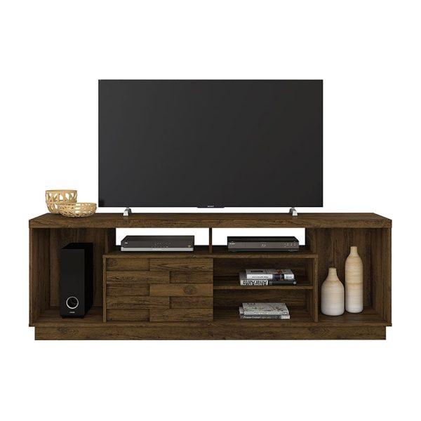 """La mesa de tv 65"""" Adria se ajusta a cualquier decoración y espacio, pues su diseño moderno y funcional combina con todo"""