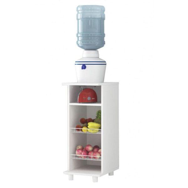 El mueble de cocina Lisboa facilita el almacenamiento de alimentos o utensilios de cocina con sus amplios compartimientos