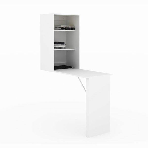 El escritorio desmontable Venecia es perfecto para lugares limitados y cuenta con bloqueo de seguridad