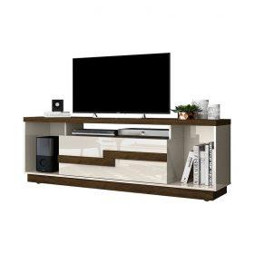 """La mesa de tv 60"""" Bia aporta equilibrio y armonía a los espacios del hogar, disponible en cuatro colores"""