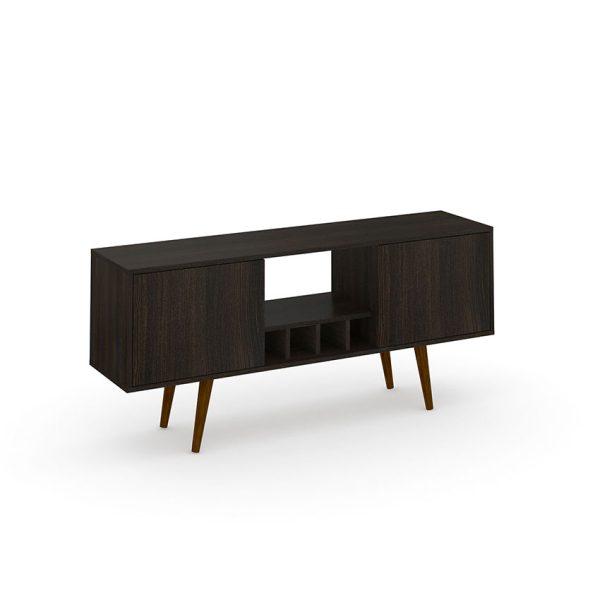 """La mesa de tv 55"""" Portugal ofrece facilidad a la hora de almacenar elementos y ser decorativo. Disponible en dos tonos diferentes"""