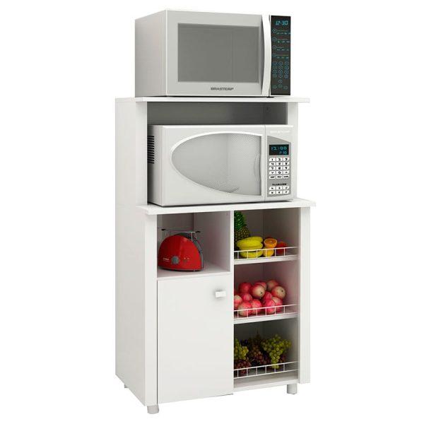 El mueble de cocina Burgos blanco se ajusta a las necesidades, ofreciendo amplios módulos de organización