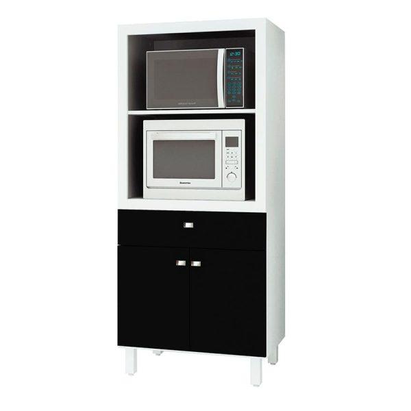 El mueble de cocina Pamplona ofrece amplios compartimientos, cajones y estantes para facilitar el orden en el espacio donde se ubique