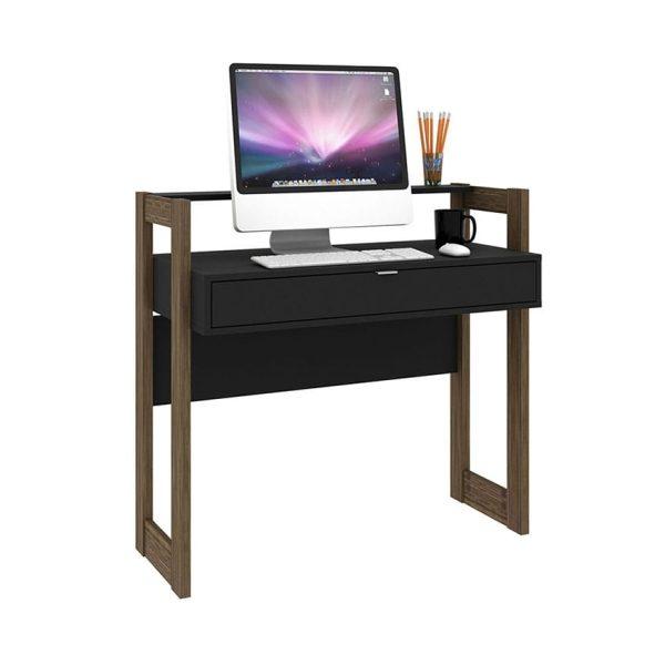 El escritorio Caracas tiene un diseño innovador que permite almacenar elementos esenciales en su amplio cajón