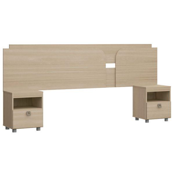 cabecera, cabecera doble, cabecera con mesa de noche, muebles para dormitorio, muebles para el hogar, facil armado, bogota
