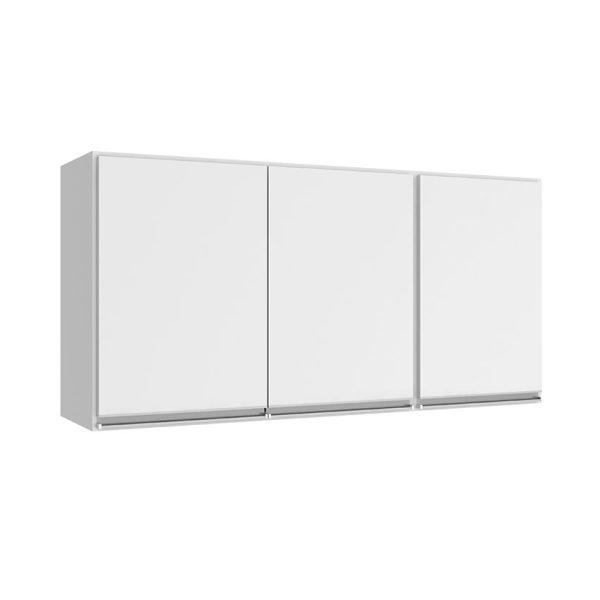 El mueble aéreo Bahía blanco ofrece cuatro amplios compartimientos para elementos requeridos en el lugar donde se ubiqueEl mueble aéreo Bahía blanco ofrece cuatro amplios compartimientos para elementos requeridos en el lugar donde se ubique