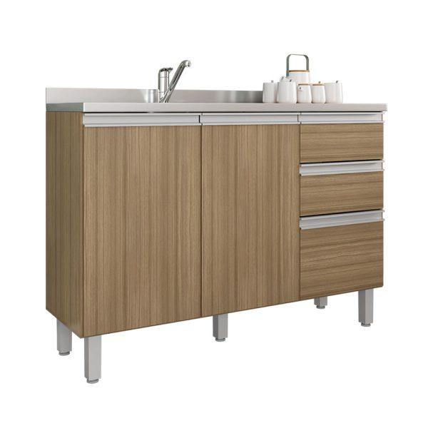 El mueble bajo de cocina Concordia cuenta con un diseño sofisticado ofrece amplios cajones y estantes para almacenamiento