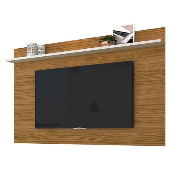 """El panel TV 60"""" Lorenzo 1.8 optimiza los espacios ofreciendo un mueble sencillo y agradable"""