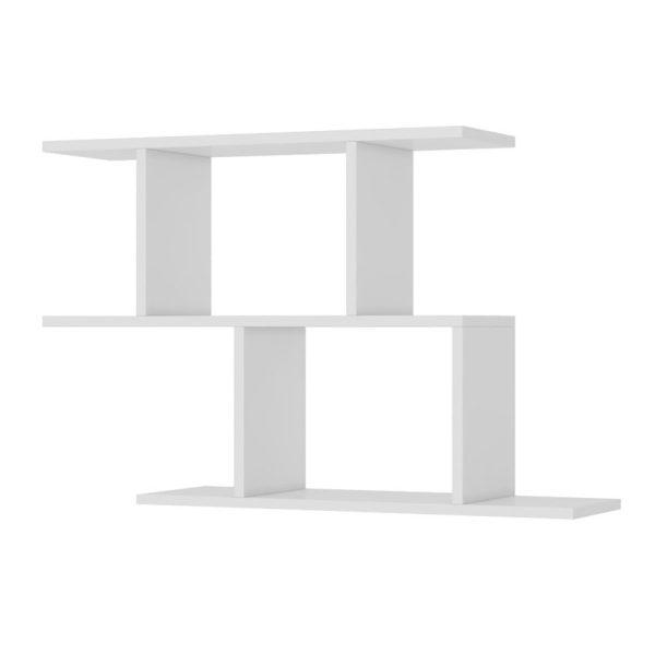 La repisa Bento ofrece dos estantes para decorar u ordenar el espacio donde se ubique