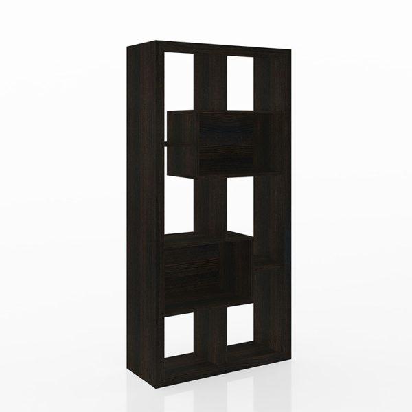 La estantería Londres esta disponible en dos tonos, su uso se ajusta a la necesidad acomodandose en vertical u horizontal