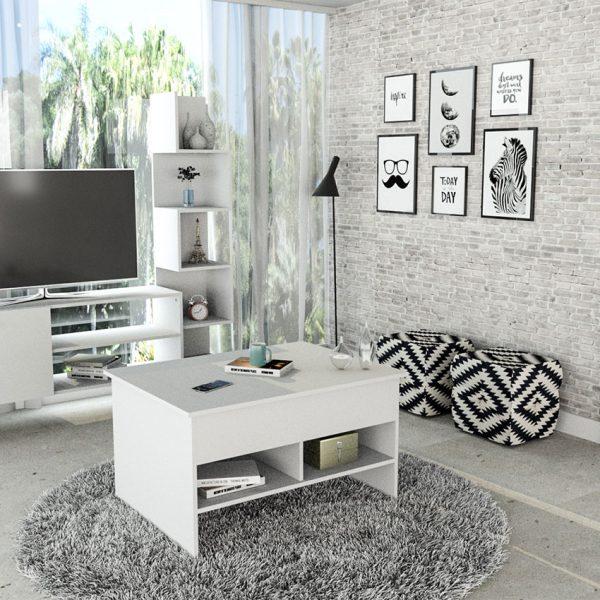 La mesa multiusos Chiquinquira es idónea para optimizar espacios y decorar la habitación donde se encuentre