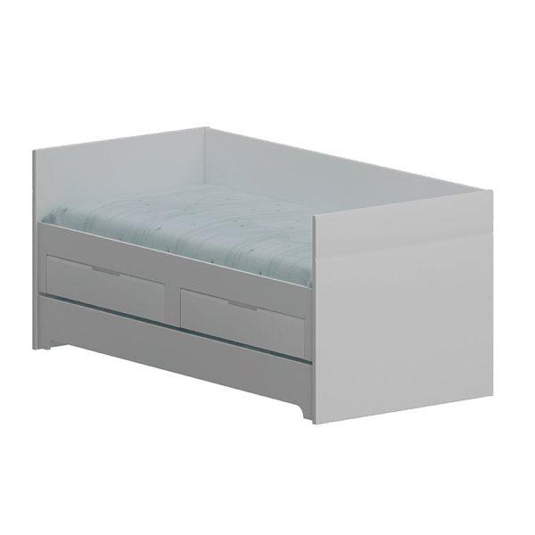 Bicama moderna ideal para mantener ordenada la habitación y recibir visitas