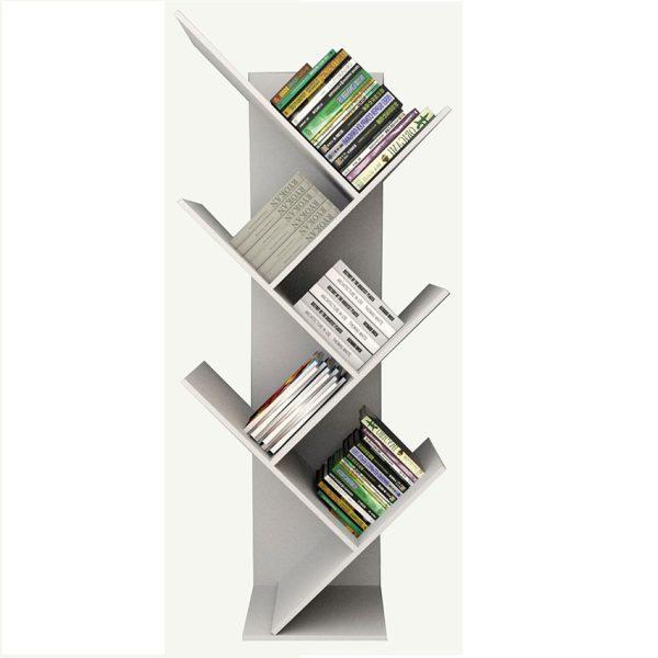 La estantería Moscú por su diseño moderno e innovador facilita la organización y funciona como biblioteca