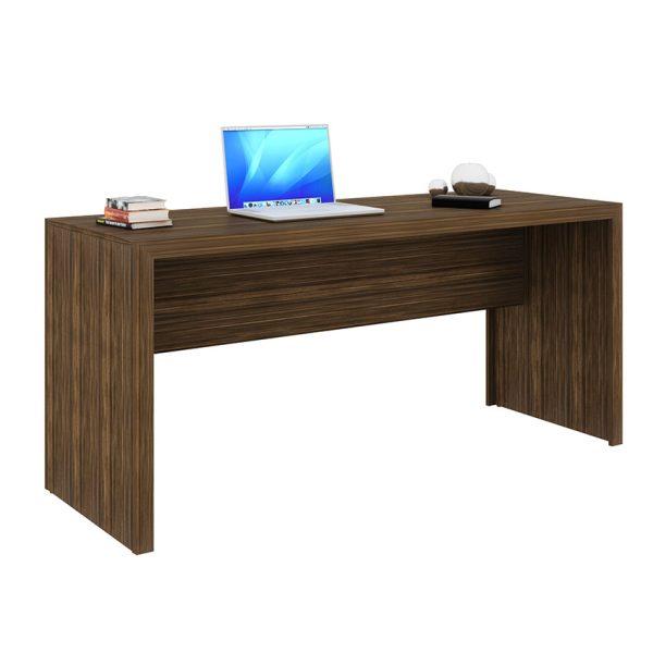 El escritorio Lima color nogal favorece cada espacio del hogar y permite decorar con elementos esenciales
