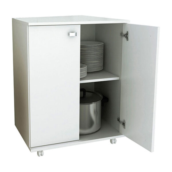 Mueble Auxiliar de Cocina Bélgica Blanco 2