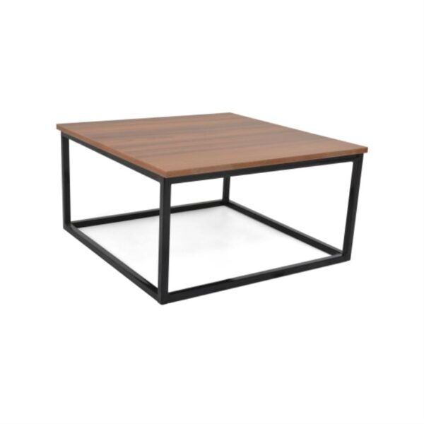 Mesa de centro color pigneto y negro