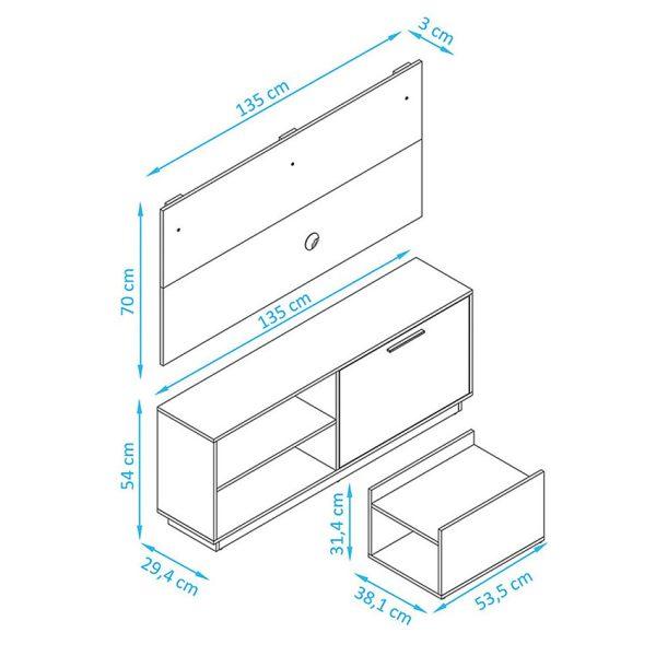 Combo de sala para optimizar los espacios de su hogar
