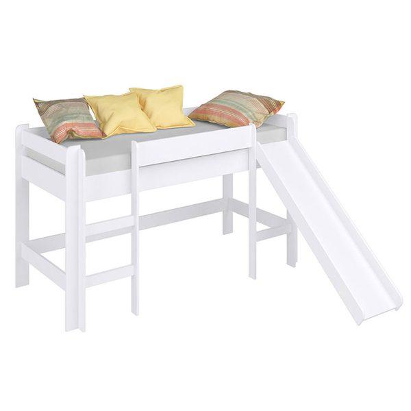 Cama infantil para el dormitorio de los más pequeños con rodadero
