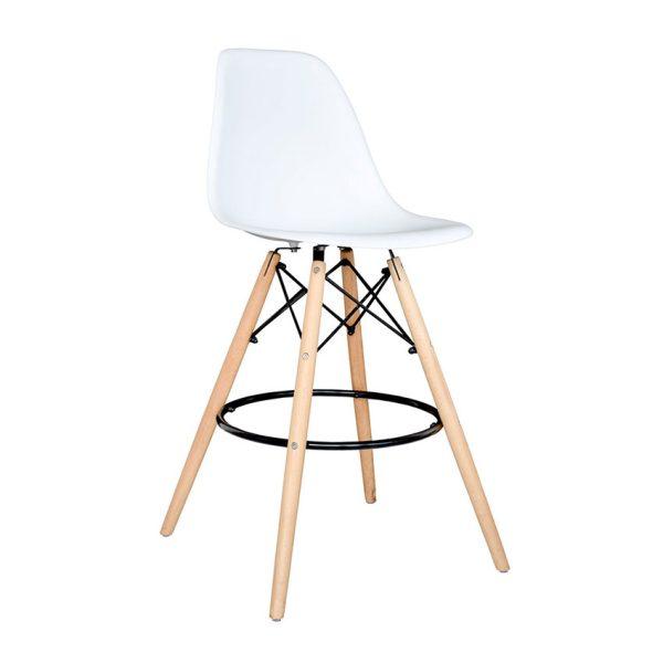 silla para el hogar con cuatro patas de madera