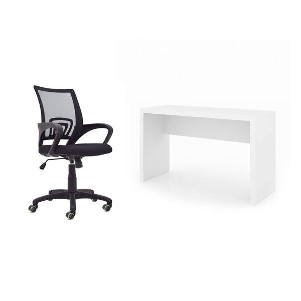 Combo escritorio más silla para trabajar desde la casa