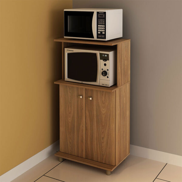 Mueble auxiliar para ubicar electrodomésticos y productos de uso diario en la cocina