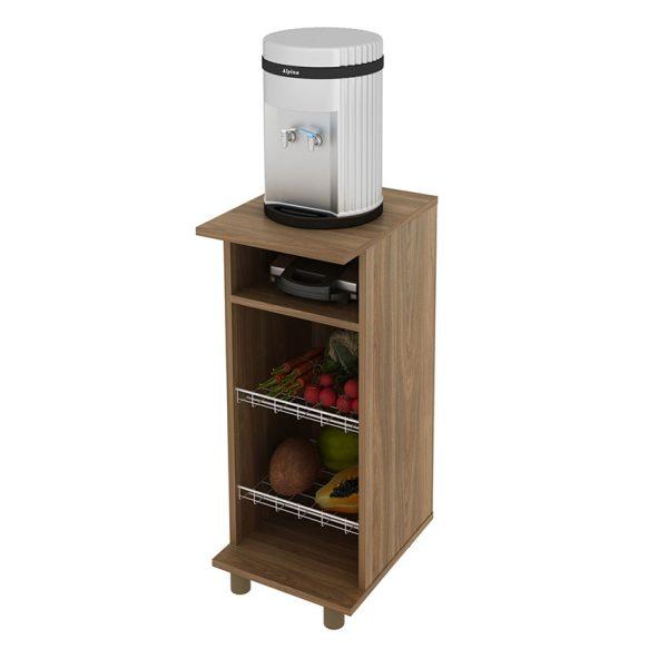 Muebles auxiliar ideal para espacios reducidos, ya que permite organizar diferentes alimentos y utensilios