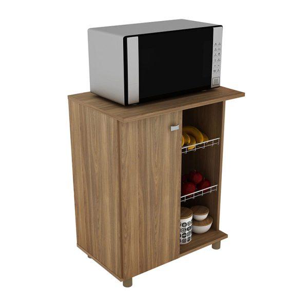 Mueble auxiliar de cocina ideal para organizar objetos del uso diario
