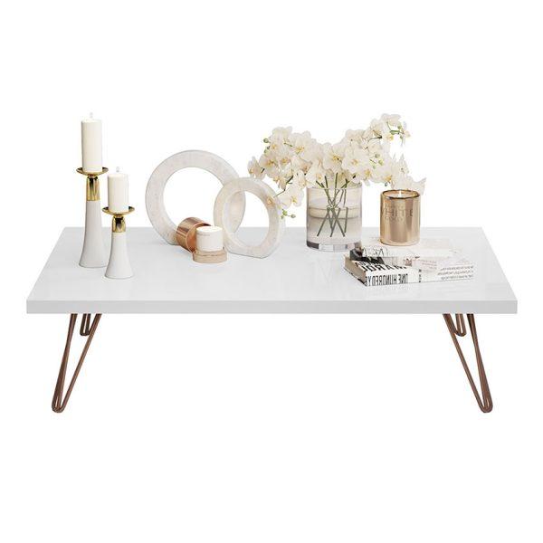 Mesa de centro ideal para espacios del hogar