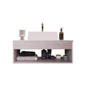 Mueble de baño elegante para el hogar con lavamanos
