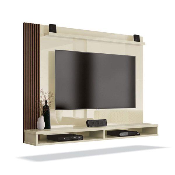 Panel de TV que se caracteriza por su sencillo diseño que permite el aprovechamiento de los espacios del hogar